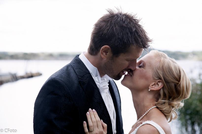 Bröllop Johanna och Daniel Kungsbacka Vallda kyrka Fotograf Catharina Andersson CFoto